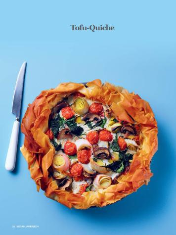 Rezept - Tofu-Quiche - Healthy Vegan Sonderheft - Vegan Jahrbuch