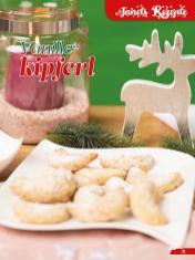 Rezept - Vanille-Kipferl - Simply Backen Sonderheft Weihnachtsbacken mit Janet & Jasmin 01/2019