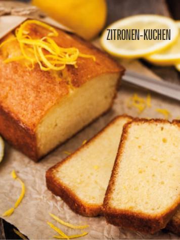 Rezept - Zitronen-Kuchen - Bewusst Low Carb Sonderheft – 03/2019