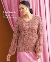 Strickanleitung - Alte Rosen - Pullover mit Glockenärmeln - Designer Knitting 06/2019