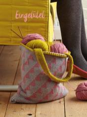 Strickanleitung - Eingetütet - Best of Simply Stricken & Häkeln Taschen + Etuis 02/2019