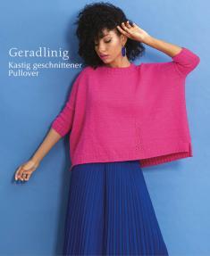 Strickanleitung - Geradlinig - Kastig geschnittener Pullover - Designer Knitting 06/2019