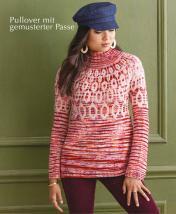 Strickanleitung - Pullover mit gemusterter Passe - Designer Knitting 06/2019
