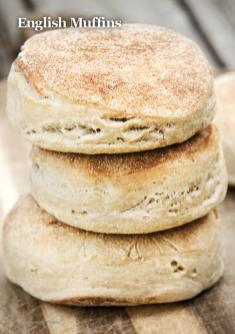 Rezept - English-Muffins - Vegan Food & Living – 01/2020