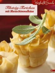 Rezept - Filoteig-Törtchen mit Blauschimmelkäse - Simply Backen Fingerfood – 05/2019