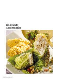 Rezept - Fisch-Rouladen mit Sellerie-Möhren-Püree - Bewusst Low Carb – 01/2020