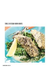 Rezept - Forelle im Sesam-Mohn-Mantel - Bewusst Low Carb – 01/2020