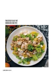 Rezept - Fruchtiger Salat mit Erdnüssen und Pute - Bewusst Low Carb – 01/2020