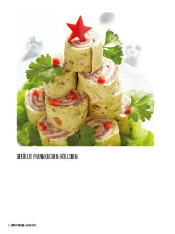 Rezept - Gefüllte Pfannkuchen-Röllchen - Bewusst Low Carb – 01/2020