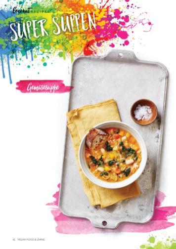 Rezept - Gemüsesuppe - Vegan Food & Living – 01/2020