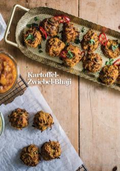 Rezept - Kartoffel-Zwiebel-Bhaji - Vegan Food & Living – 01/2020