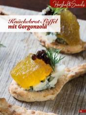 Rezept - Knäckebrot-Löffel mit Gorgonzola - Simply Backen Fingerfood – 05/2019