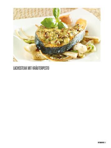 Rezept - Lachssteak mit Kräuterpesto - Bewusst Low Carb – 01/2020