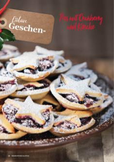 Rezept - Pies mit Cranberry und Kirsche - Vegan Food & Living – 01/2020