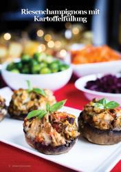 Rezept - Riesenchampignons mit Kartoffelfüllung - Vegan Food & Living – 01/2020