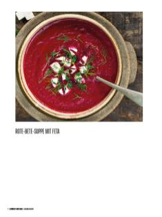 Rezept - Rote-Bete-Suppe mit Feta - Bewusst Low Carb – 01/2020