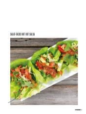 Rezept - Salat-Tacos mit hot Salsa - Bewusst Low Carb – 01/2020