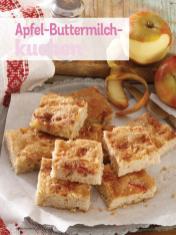 Rezept - Apfel-Buttermilchkuchen - Simply Kochen Diät-Rezepte für die ganze Familie