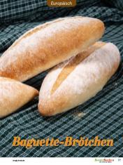 Rezept - Baguette-Brötchen - Besser Backen mit Tommy Weinz – Brötchen