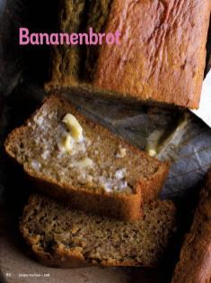 Rezept - Bananenbrot - Simply Kochen Diät-Rezepte für die ganze Familie