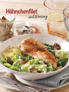 Rezept - Hähnchenfilet mit Wirsing - Simply Kochen Diät-Rezepte für die ganze Familie
