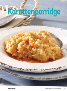 Rezept - Karottenporridge - Simply Kochen Diät-Rezepte für die ganze Familie