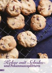 Rezept - Kekse mit Schoko und Pekannusssplittern - Simply Backen Sonderheft Kuchen – 01/2020
