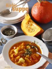 Rezept - Kürbissuppe - Simply Kochen Diät-Rezepte für die ganze Familie