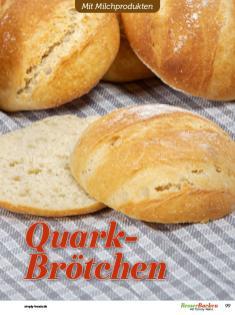 Rezept - Quark-Brötchen - Besser Backen mit Tommy Weinz – Brötchen