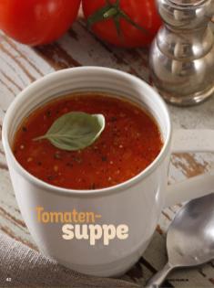 Rezept - Tomatensuppe - Simply Kochen Diät-Rezepte für die ganze Familie