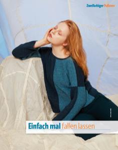 Strickanleitung - Einfach mal fallen lassen - Fantastische Strickideen Sonderheft 01/2020