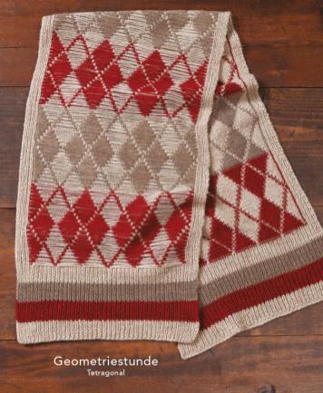 Strickanleitung - Geometriestunde - Tetragonal - Designer Knitting - 01/2020