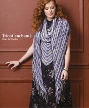 Strickanleitung - Tricot enchante - Fleur de Glycine - Designer Knitting - 01/2020