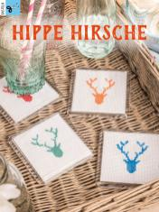 Bastelanleitung - Hippe Hirsche