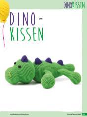 Häkelanleitung - Dino-Kissen - Fantastische Häkelideen Bärchenparty Amigurumi Vol. 24