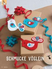 Häkelanleitung - Schmucke Vöglein - Simply Kreativ Heft 01/2020