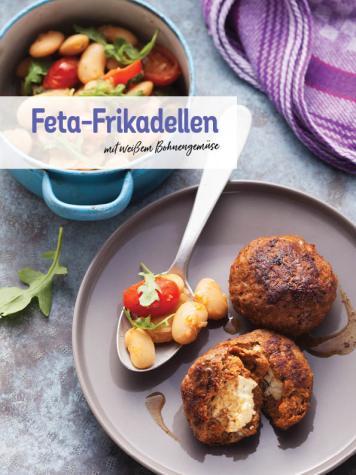 Rezept - Feta-Frikadellen mit weißem Bohnengemüse - Simply Kochen Sonderheft Low Carb