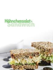 Rezept - Hähnchensalat-Sandwich - Simply Kochen Sonderheft Low Carb