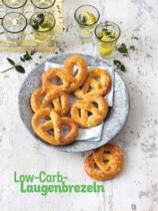 Rezept - Low-Carb-Laugenbrezeln - Simply Kochen Sonderheft Low Carb