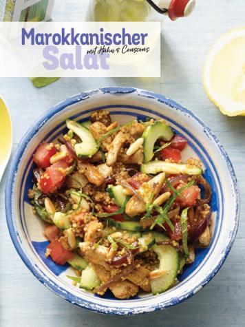 Rezept - Marokkanischer Salat mit Huhn & Couscous - Simply Kochen Sonderheft Low Carb