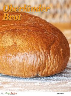 Rezept - Oberländer-Brot - Brote Backen mit Tommy Weinz 02/2020