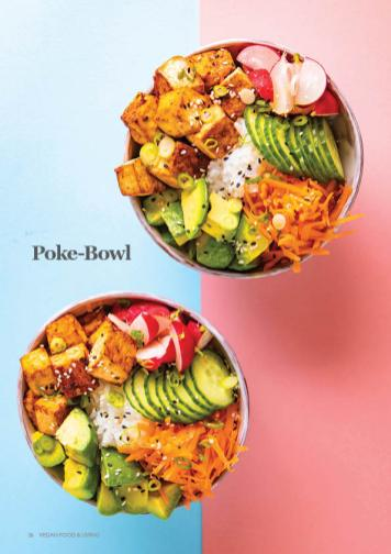 Rezept - Poke-Bowl - Vegan Food & Living – 02/2020