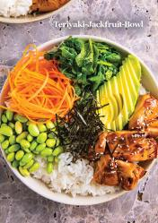 Rezept - Teriyaki-Jackfruit-Bowl - Vegan Food & Living – 02/2020