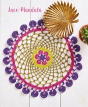 Häkelanleitung - Lace-Mandala - Mini Häkeln Vol. 13 Accessoires