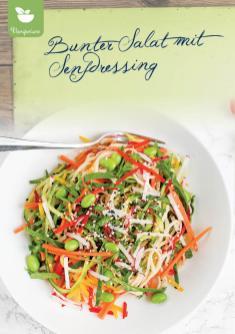 Rezept - Bunter Salat mit Senfdressing - Simply Kreativ Extra – Leckere Ideen für den Thermomix® 01/2020