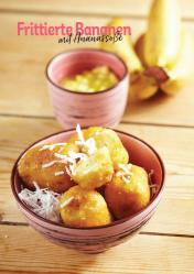 Rezept - Frittierte Bananen mit Ananassoße - Simply Kochen Heißluft-Fritteuse