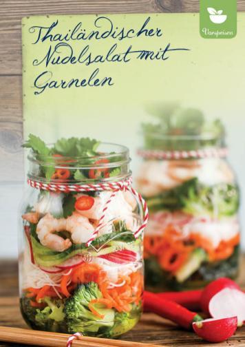 Rezept - Thailändischer Nudelsalat mit Garnelen - Simply Kreativ Extra – Leckere Ideen für den Thermomix® 01/2020