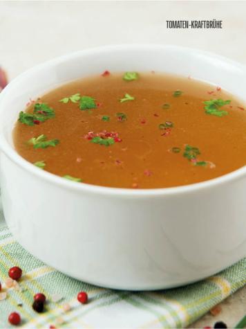 Rezept - Tomaten-Kraftbrühe - Bewusst Low Carb Sonderheft: Fasten – 02/2020