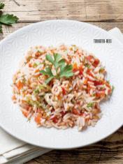 Rezept - Tomaten-Reis - Bewusst Low Carb Sonderheft: Fasten – 02/2020