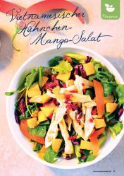 Rezept - Vietnamesischer Hühnchen-Mango-Salat - Simply Kreativ Extra – Leckere Ideen für den Thermomix® 01/2020